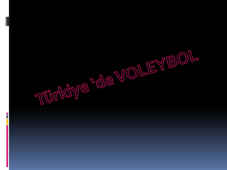 Türkiye 'de VOLEYBOL