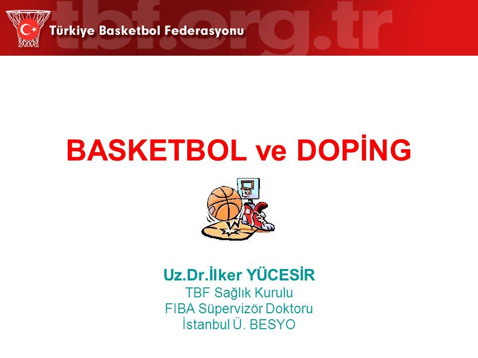 FIBA Süpervizör Doktoru