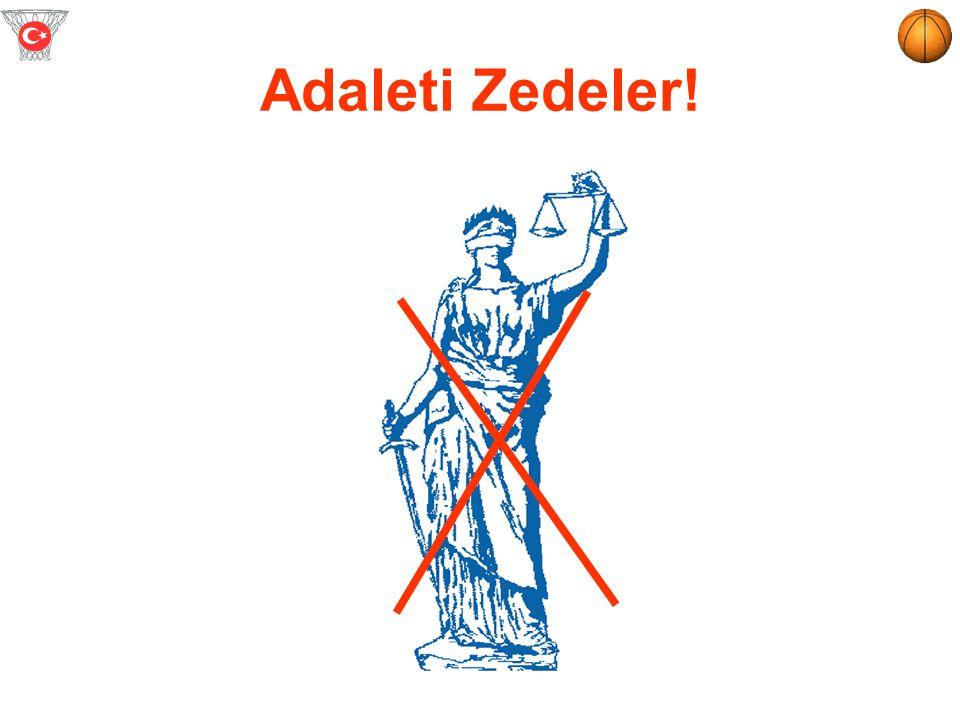 Adaleti Zedeler!