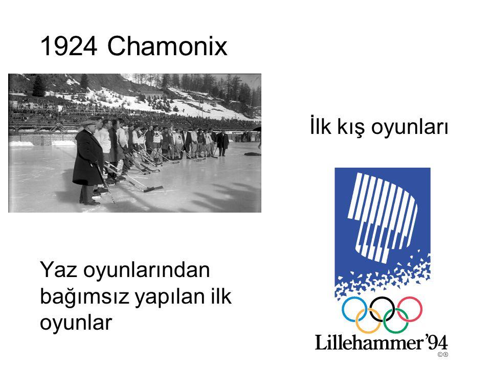 1924 Chamonix İlk kış oyunları