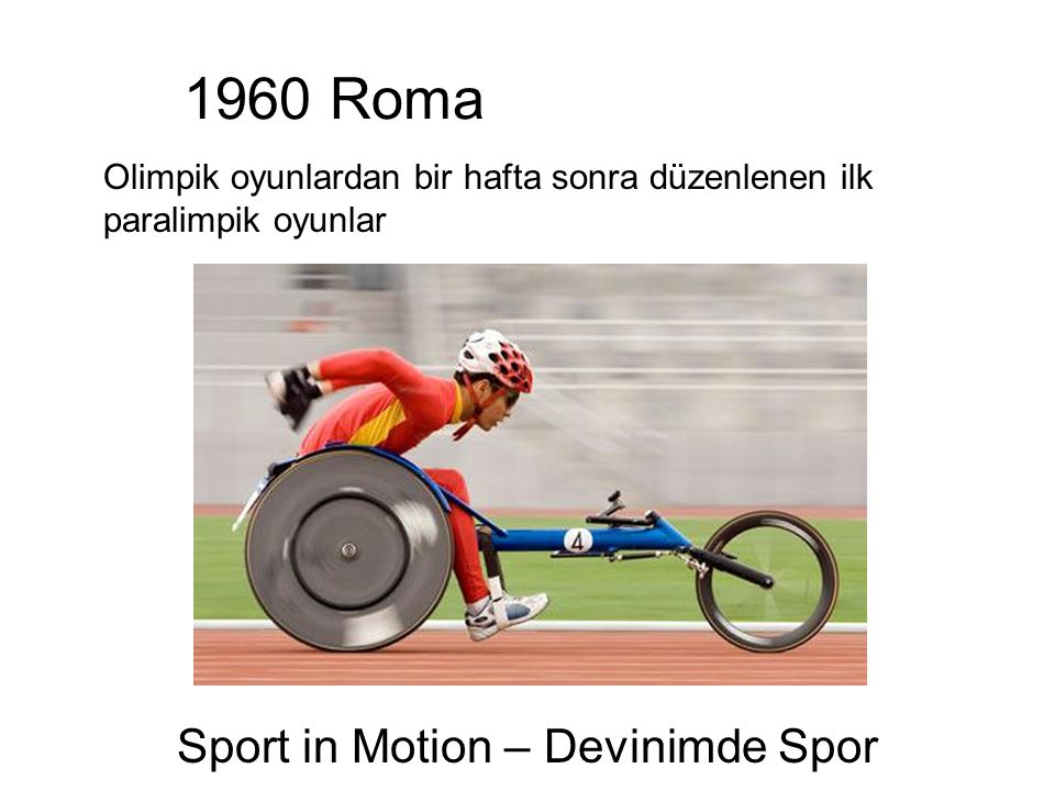 Sport in Motion – Devinimde Spor