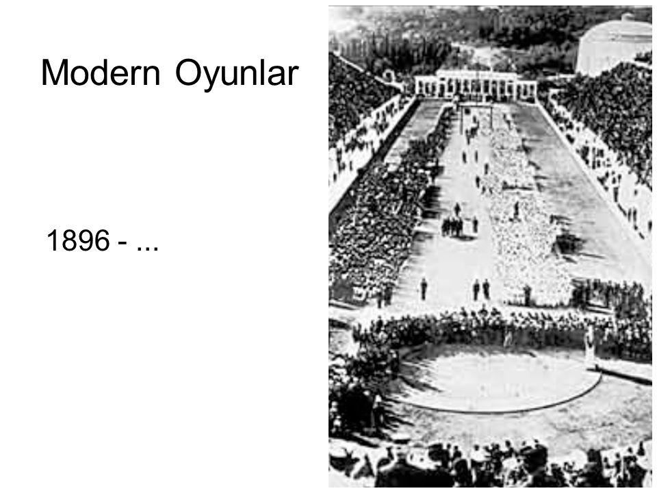 Modern Oyunlar 1896 - ...