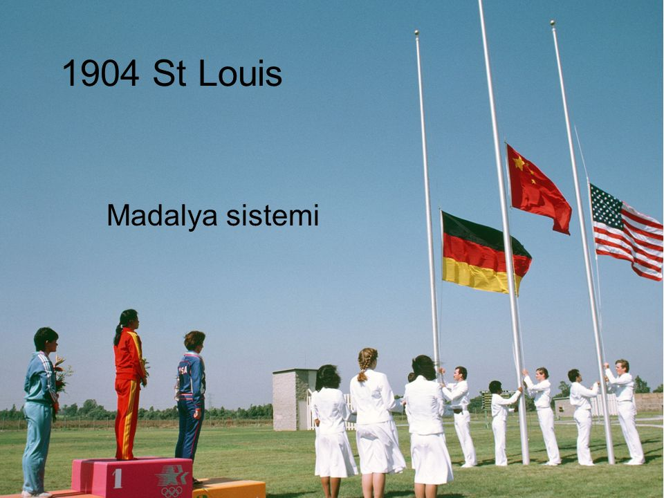 1904 St Louis Madalya sistemi