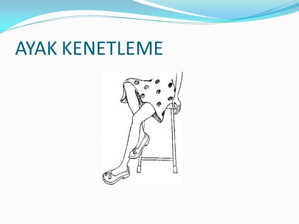 AYAK KENETLEME