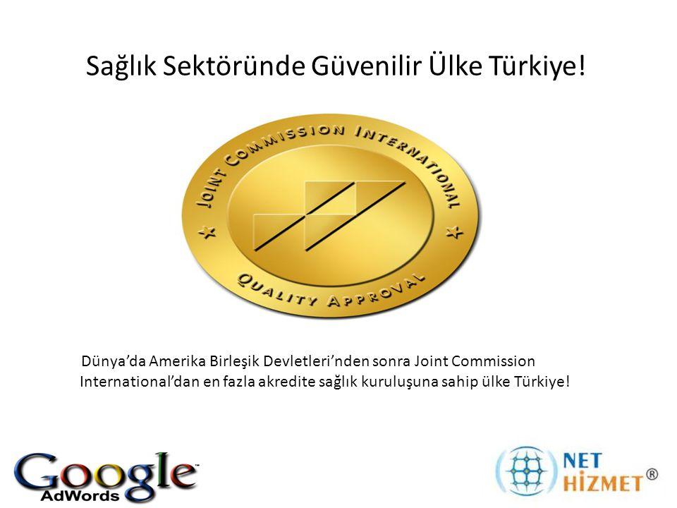 Sağlık Sektöründe Güvenilir Ülke Türkiye!