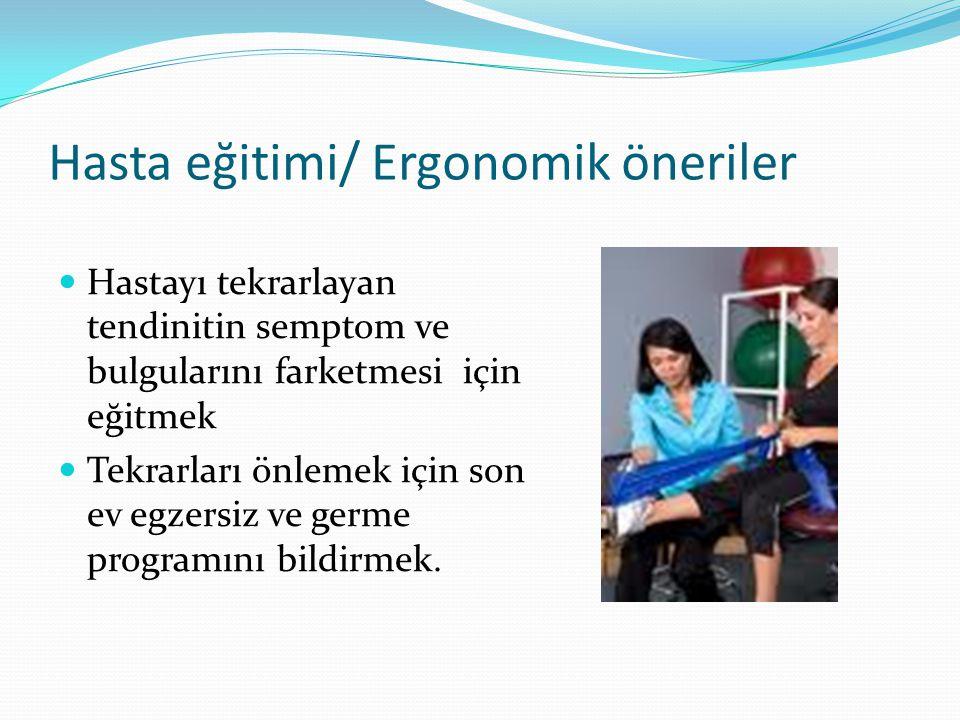 Hasta eğitimi/ Ergonomik öneriler