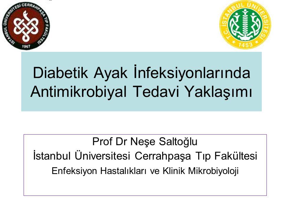 Diabetik Ayak İnfeksiyonlarında Antimikrobiyal Tedavi Yaklaşımı