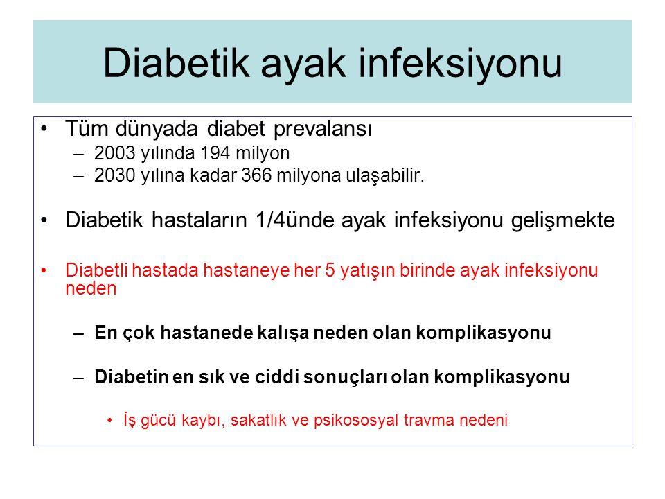 Diabetik ayak infeksiyonu