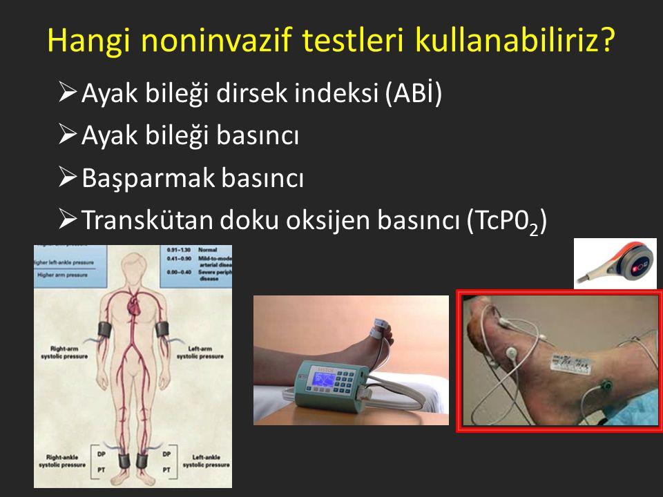 Hangi noninvazif testleri kullanabiliriz