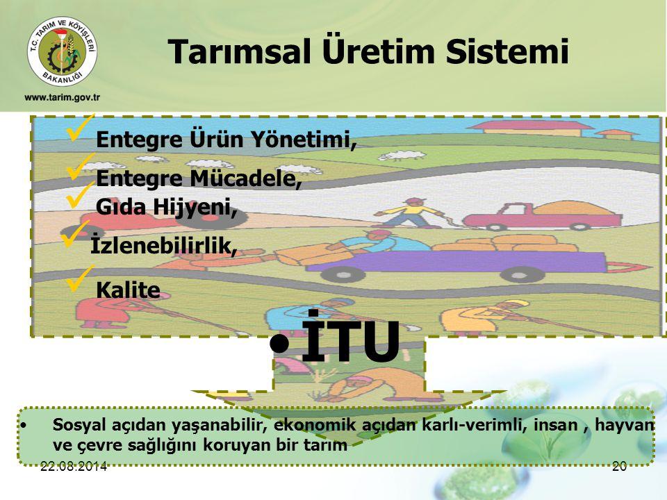 İTU Tarımsal Üretim Sistemi Entegre Ürün Yönetimi, Entegre Mücadele,