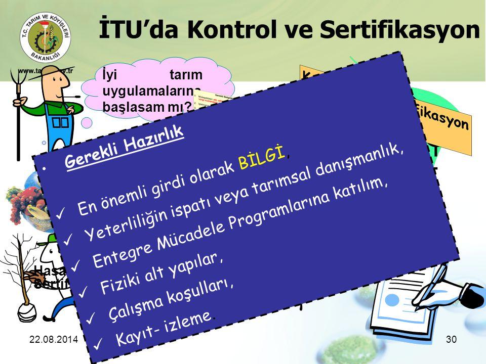 İTU'da Kontrol ve Sertifikasyon