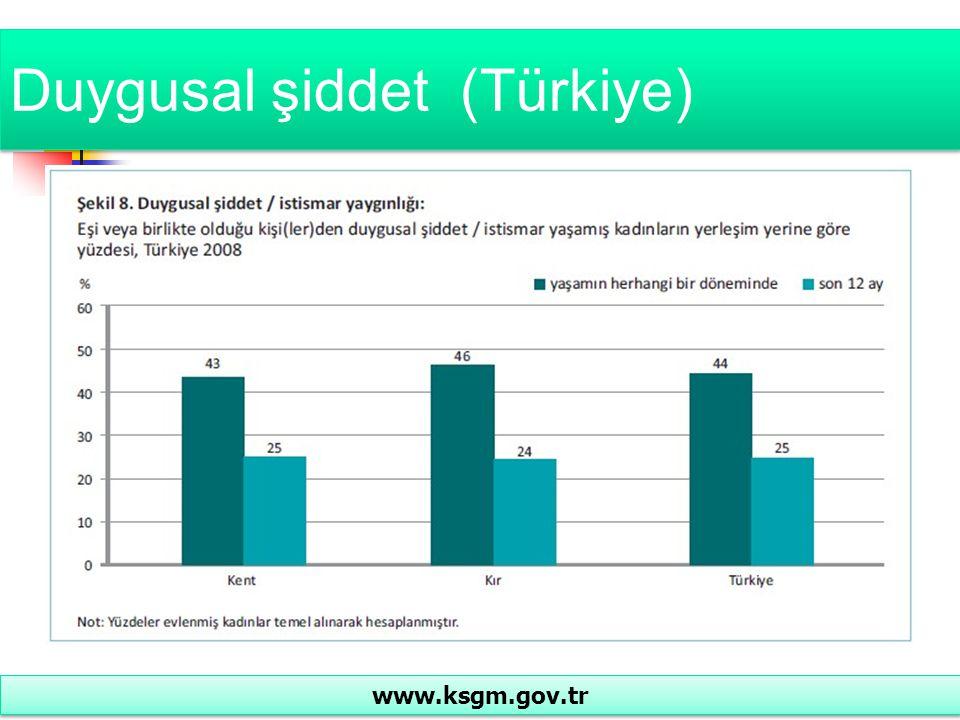 Duygusal şiddet (Türkiye)