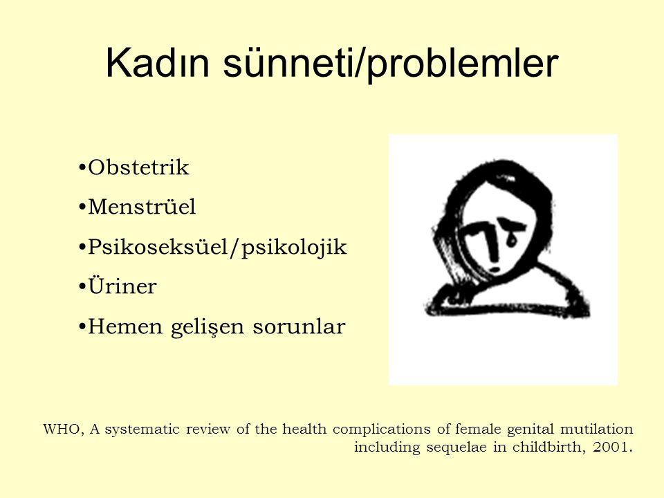 Kadın sünneti/problemler