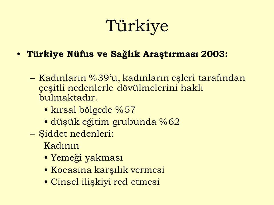 Türkiye Türkiye Nüfus ve Sağlık Araştırması 2003:
