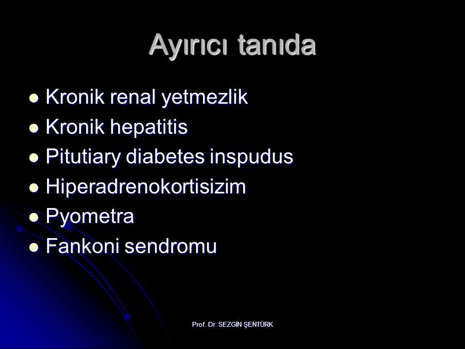 Ayırıcı tanıda Kronik renal yetmezlik Kronik hepatitis