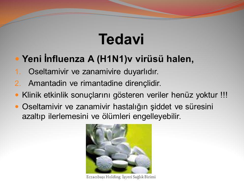 Tedavi Yeni İnfluenza A (H1N1)v virüsü halen,