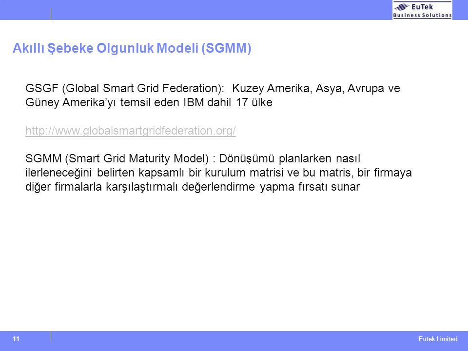Akıllı Şebeke Olgunluk Modeli (SGMM)