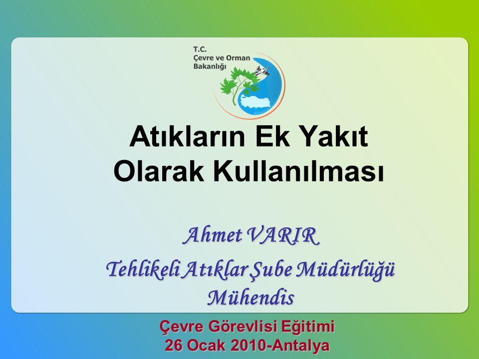 Çevre Görevlisi Eğitimi 26 Ocak 2010-Antalya