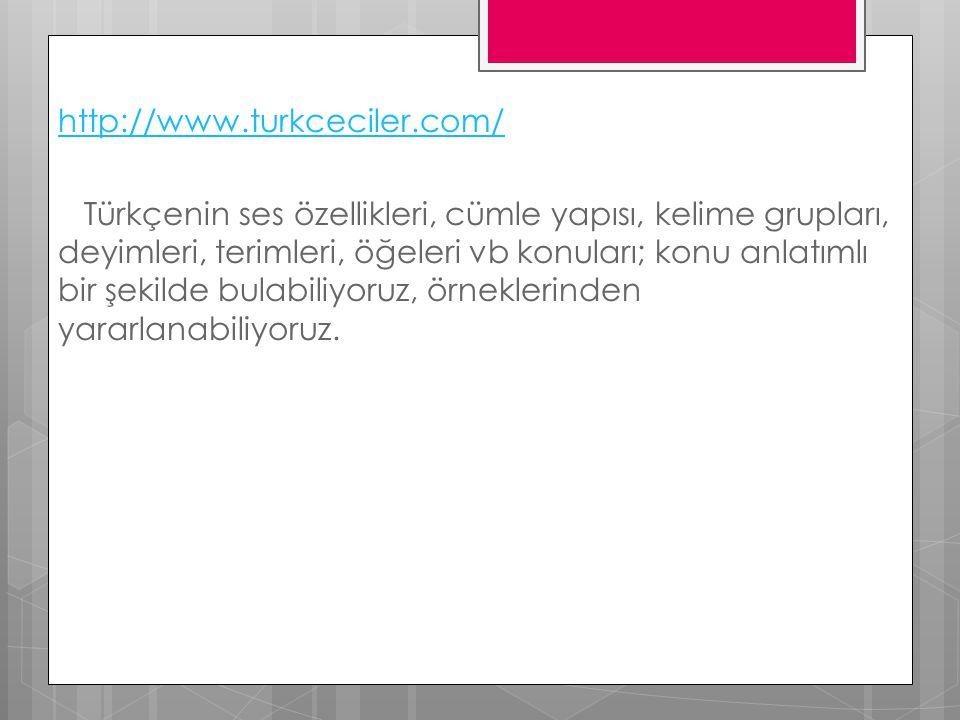 http://www. turkceciler