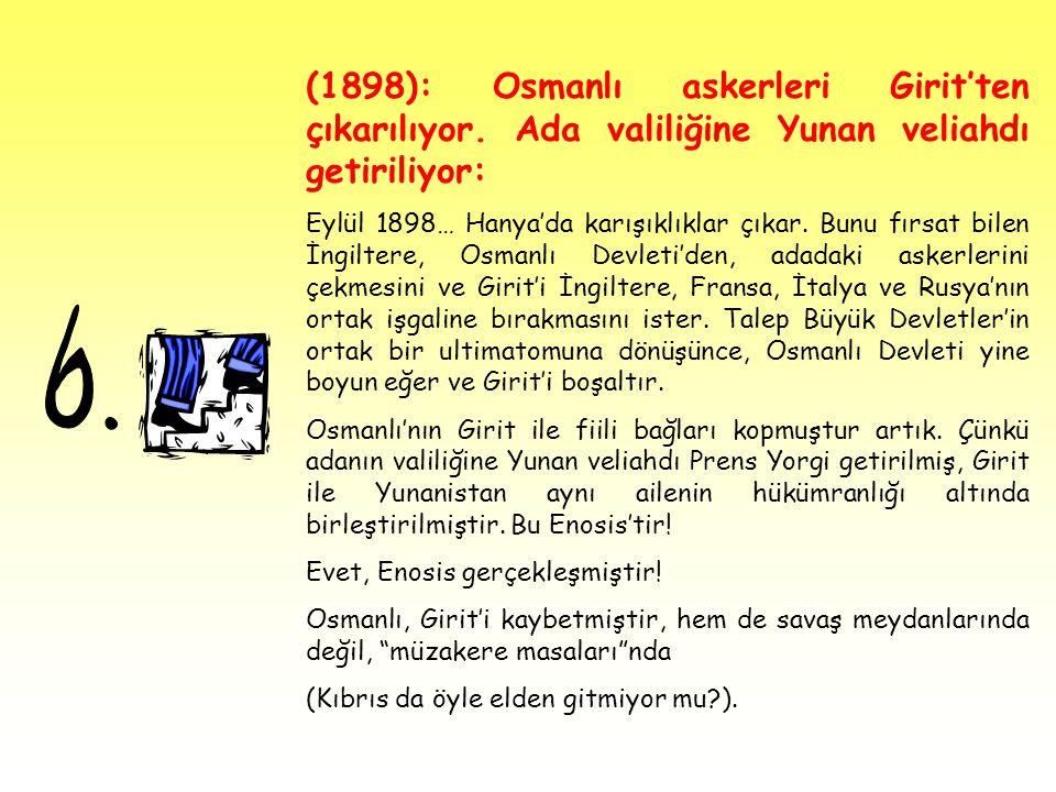 (1898): Osmanlı askerleri Girit'ten çıkarılıyor