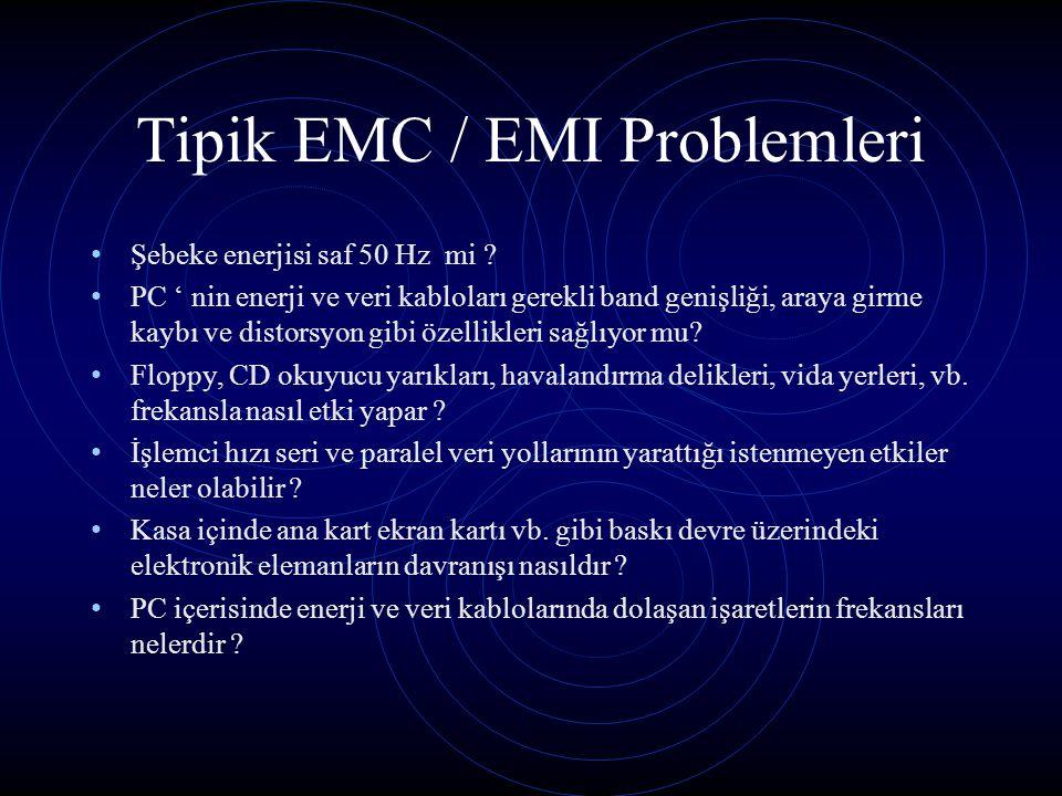 Tipik EMC / EMI Problemleri