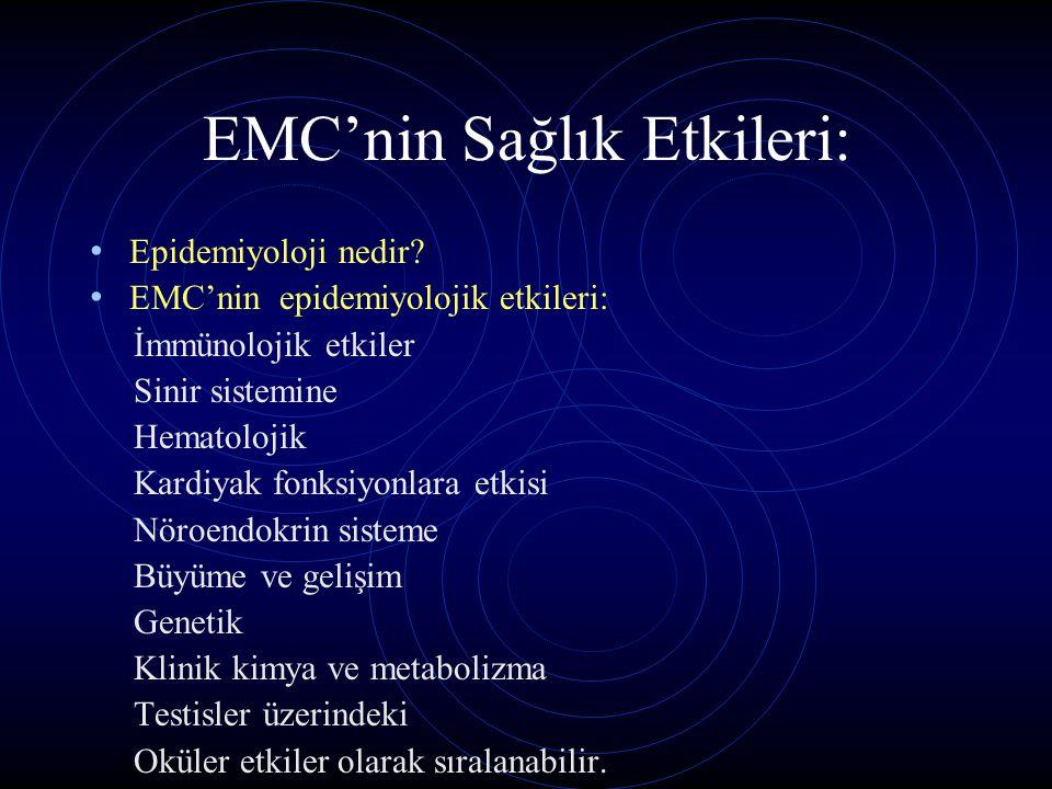 EMC'nin Sağlık Etkileri: