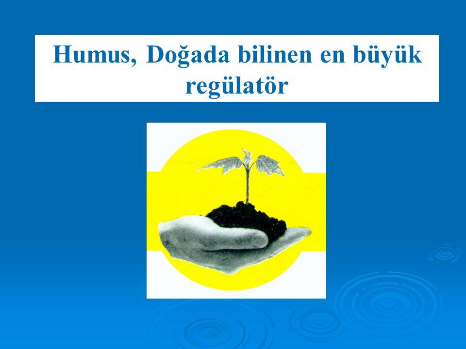 Humus, Doğada bilinen en büyük regülatör