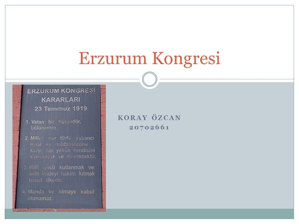 Erzurum Kongresi Koray Özcan 20702661