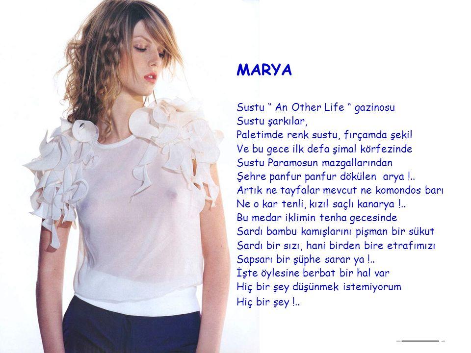 MARYA Sustu An Other Life gazinosu Sustu şarkılar,