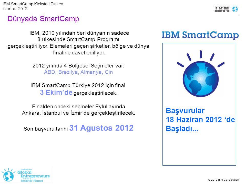 Dünyada SmartCamp Başvurular 18 Haziran 2012 'de Başladı...