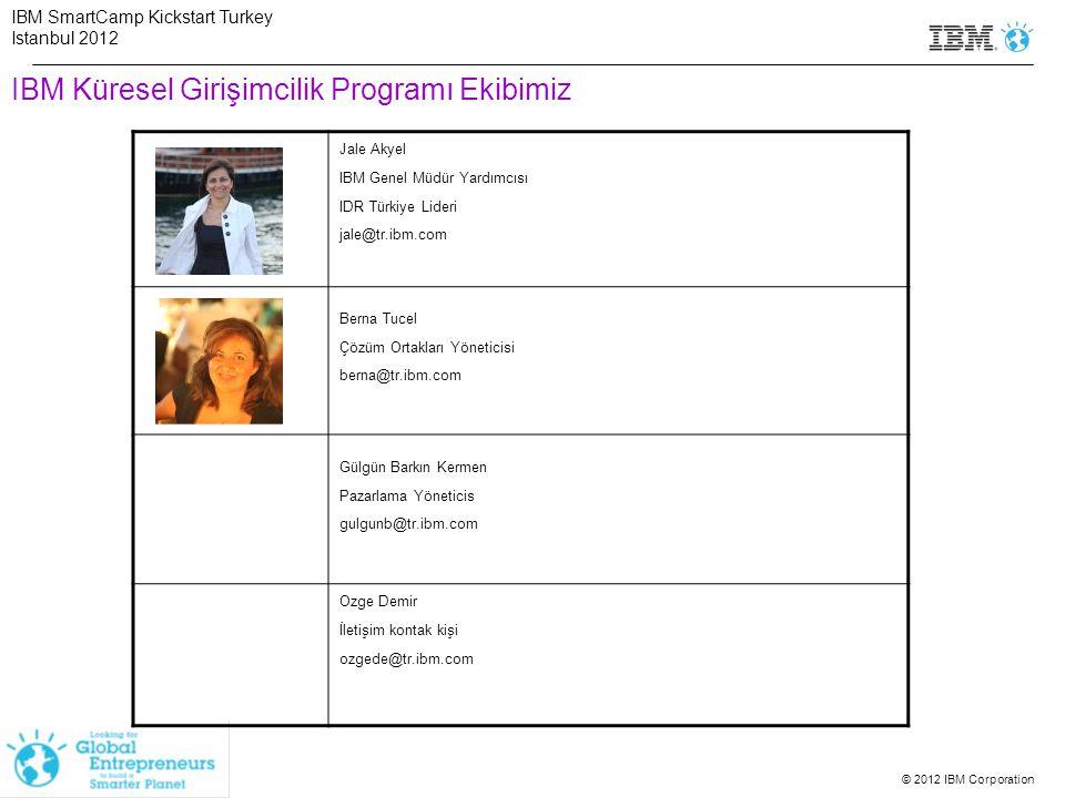 IBM Küresel Girişimcilik Programı Ekibimiz
