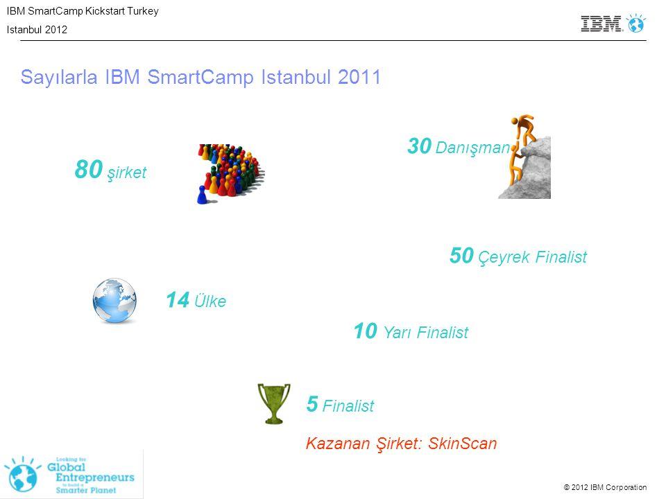Sayılarla IBM SmartCamp Istanbul 2011