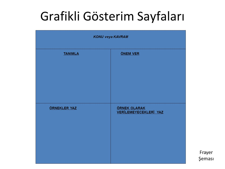 Grafikli Gösterim Sayfaları