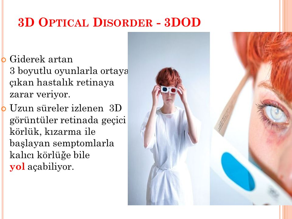 3D Optical Disorder - 3DOD