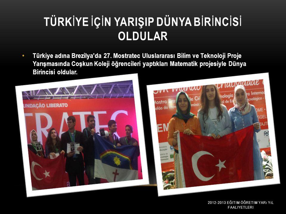 Türkİye İçİn yarişip Dünya Bİrİncİsİ Oldular