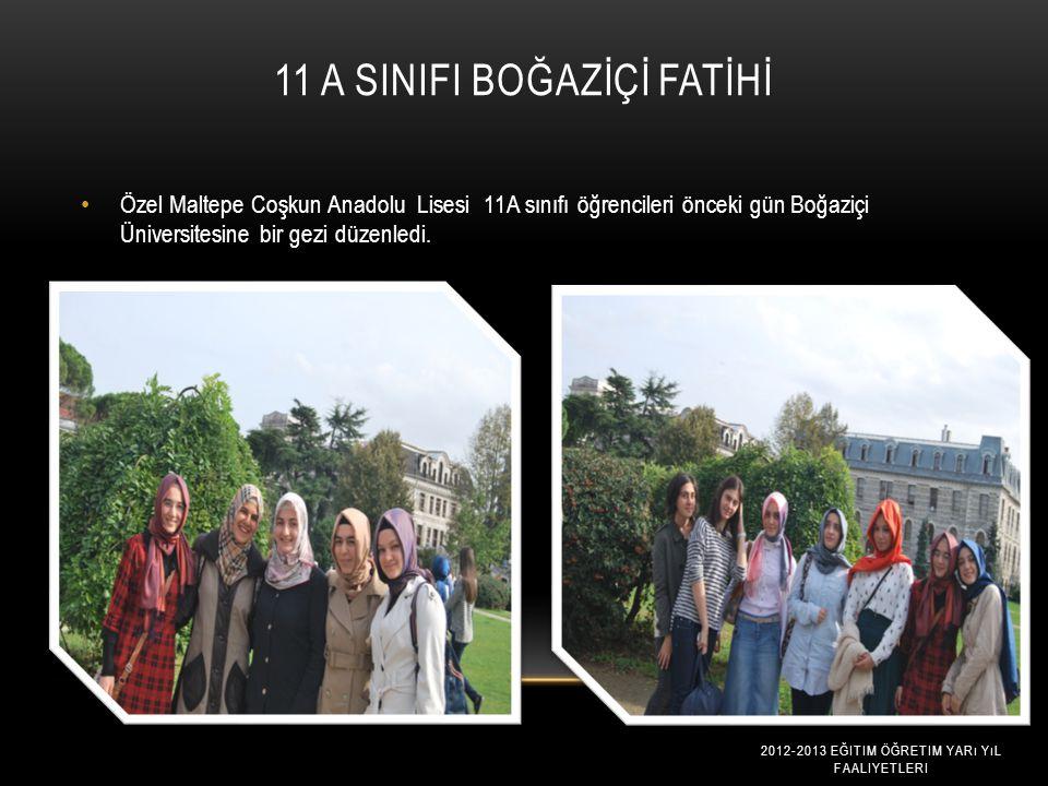 11 A SINIFI BOĞAZİÇİ FATİHİ
