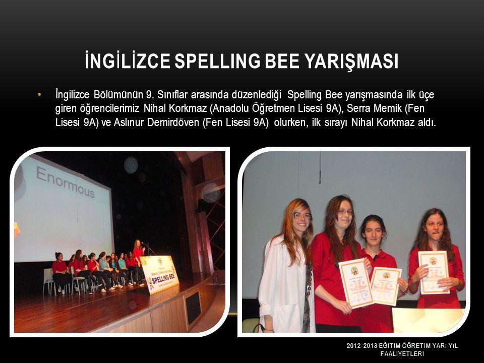 İngİlİzce Spelling Bee Yarişmasi