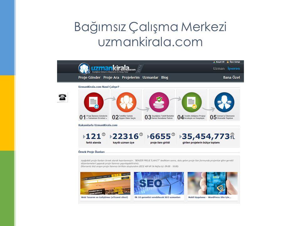Bağımsız Çalışma Merkezi uzmankirala.com