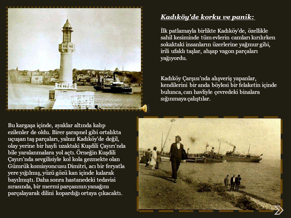 Kadıköy de korku ve panik: