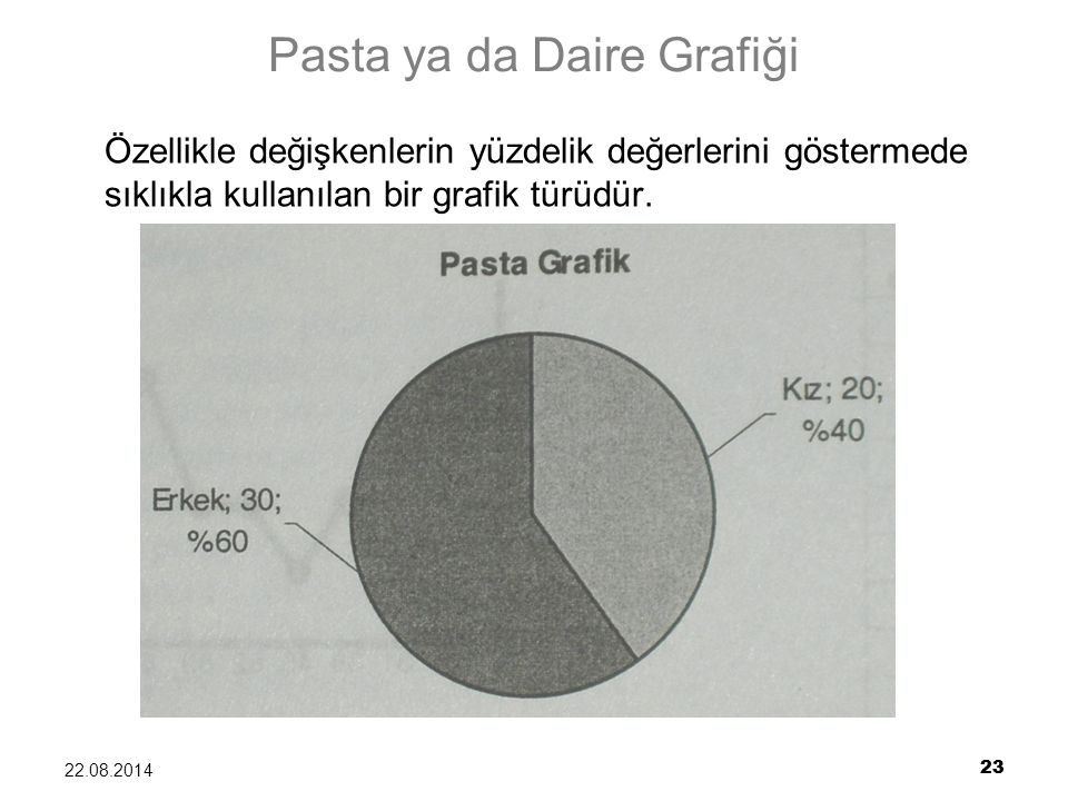 Pasta ya da Daire Grafiği
