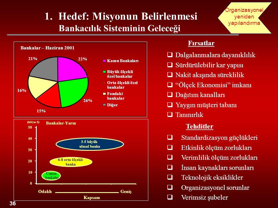 Hedef: Misyonun Belirlenmesi Bankacılık Sisteminin Geleceği