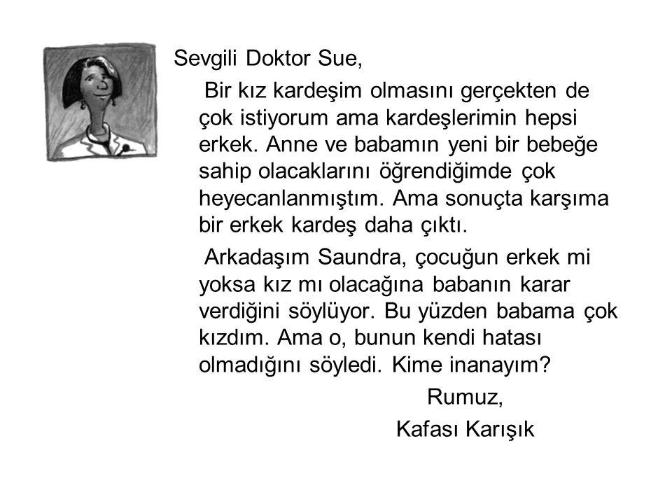 Sevgili Doktor Sue,