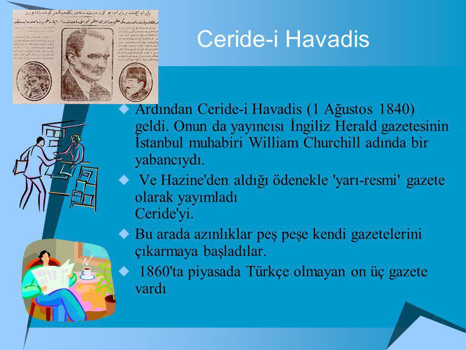 Ceride-i Havadis