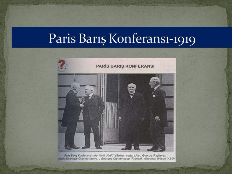 Paris Barış Konferansı-1919