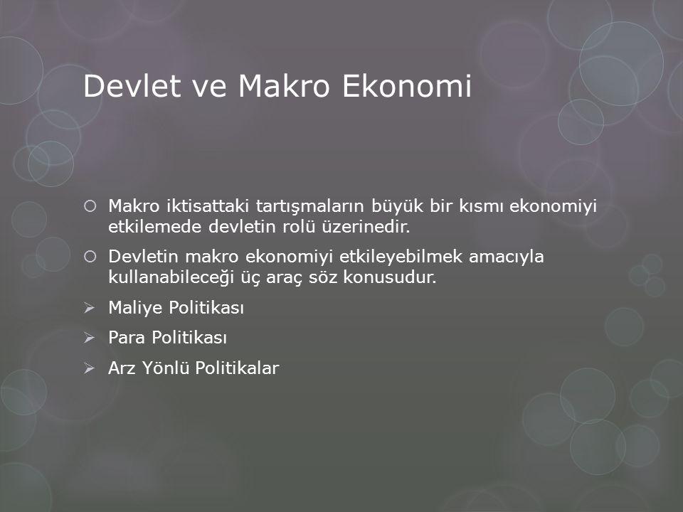 Devlet ve Makro Ekonomi