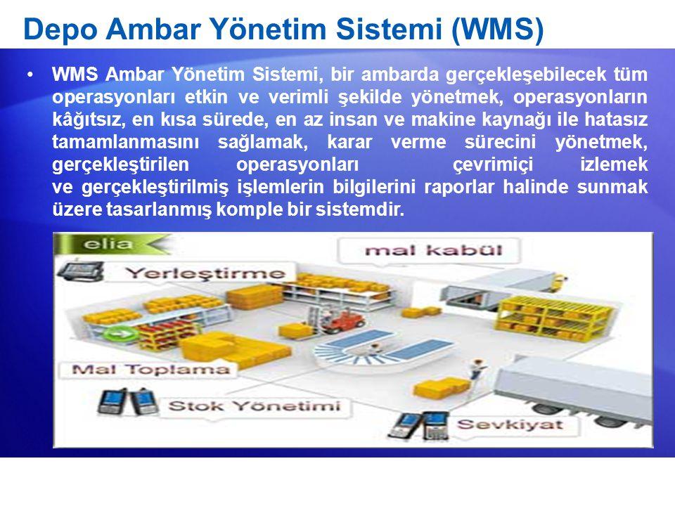 Depo Ambar Yönetim Sistemi (WMS)