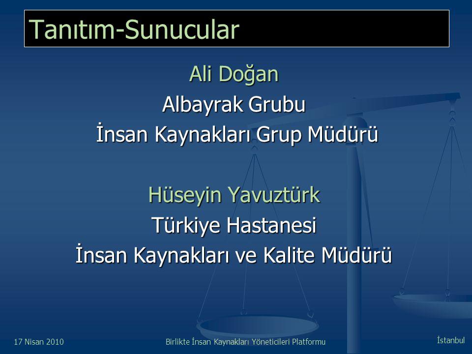 Tanıtım-Sunucular Ali Doğan Albayrak Grubu