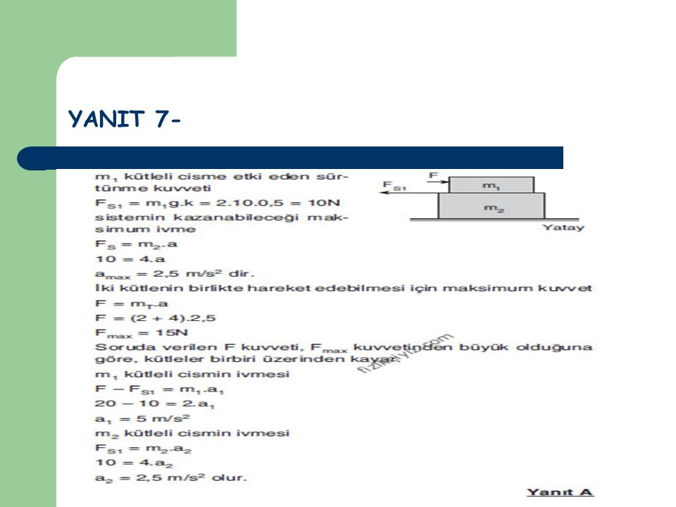 YANIT 7-