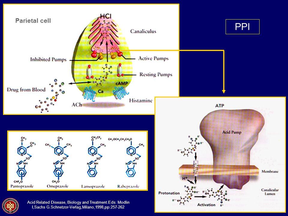 Parietal cell PPI.