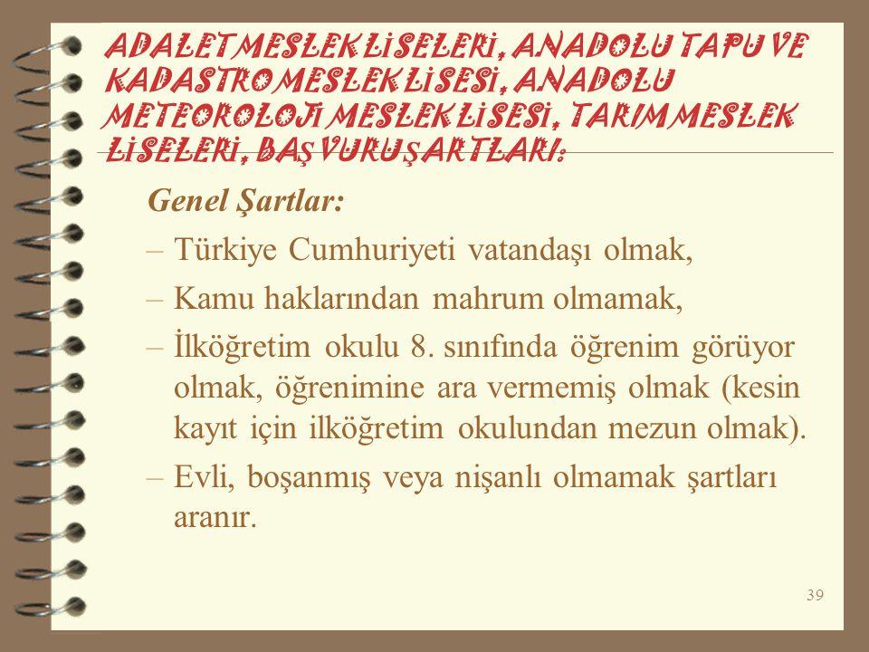 Türkiye Cumhuriyeti vatandaşı olmak, Kamu haklarından mahrum olmamak,